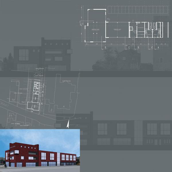6 woningen, 8 appartementen en 489m2 commerciële  ruimte te Drunen