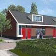 9 senioren semi-bungalows inbreidingslocatie 'ACHTER denKERCK' te Mariaheide