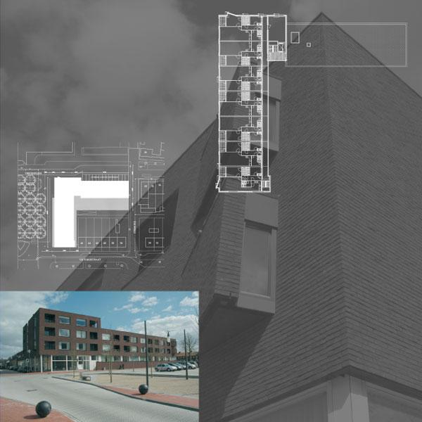 21 appartementen aan het Vredesplein te Waalwijk