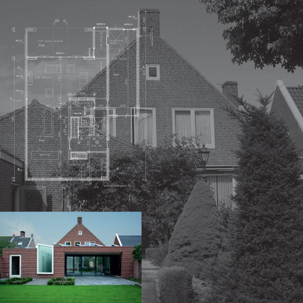 Uitbreiding woonhuis Besselink Kreitenmolenstraat Udenhout