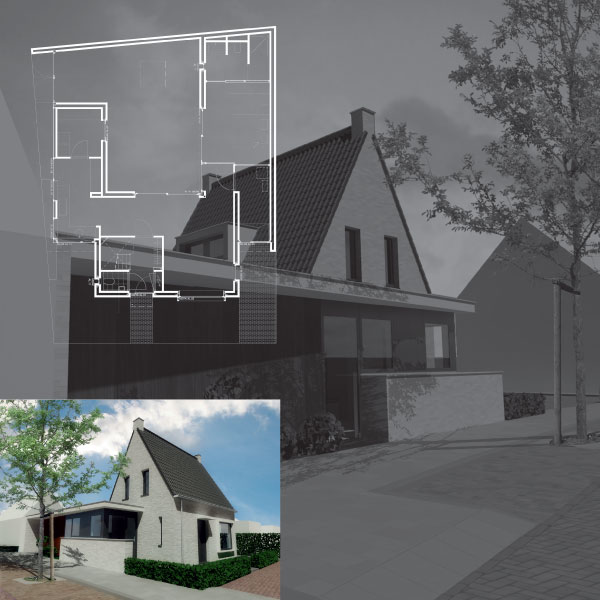 Nieuwbouw woonhuis Diessen