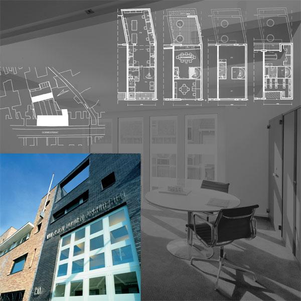 Kantoorpand Architectenbureau aan de Goirkestraat te Tilburg