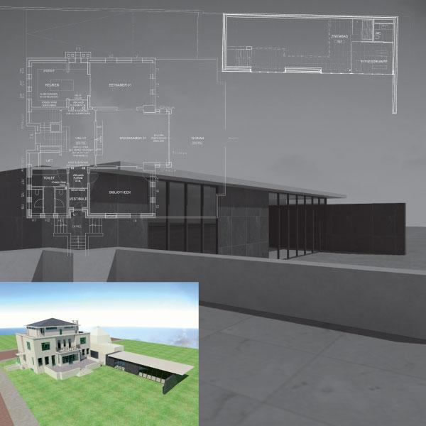 """Restauratie en uitbreiding Rijksmonument """"Het Witte Huis """" te Tilburg"""