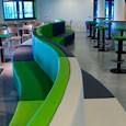 Revitalisatie kantine van 1000m2  Fontys Hogescholen gebouw TF te Eindhoven