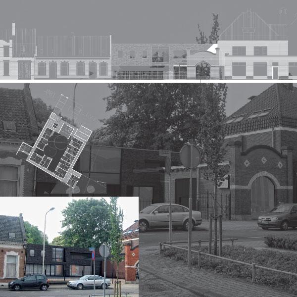 Nieuwbouw 23 zorgappartementen te Tilburg