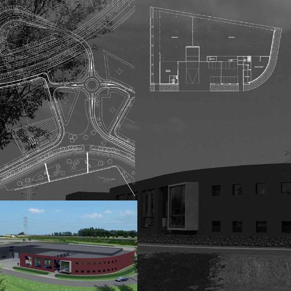 bedrijfsgebouw-kantoren De Overhoeken te Berkel-Enschot