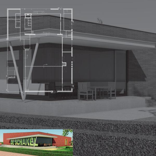 Nieuwbouw MFA DE SCHAKEL te Hooge Mierde