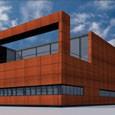 Ontwerp nieuwbouw bedrijfshuisvesting Vermoolen, T58 te Tilburg