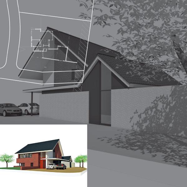Nieuwbouw woonhuis Vroenhoven Middelbeers