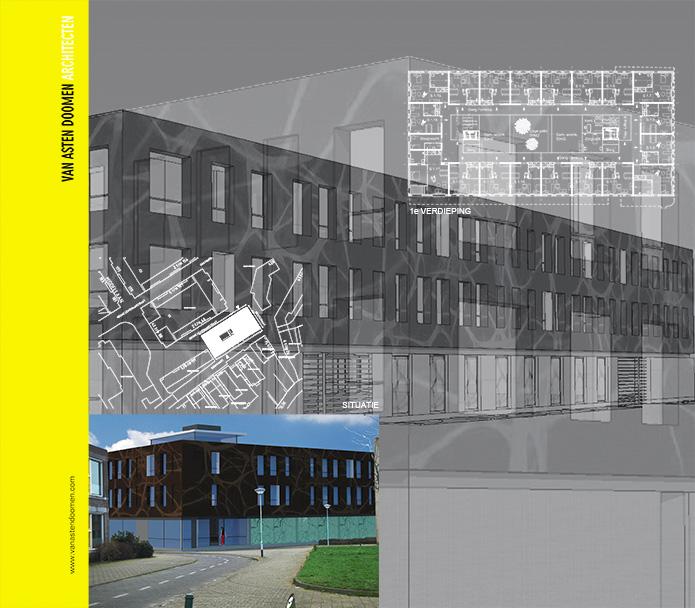 Nieuwbouw 36 zorgstudio's PAUWER te Breda