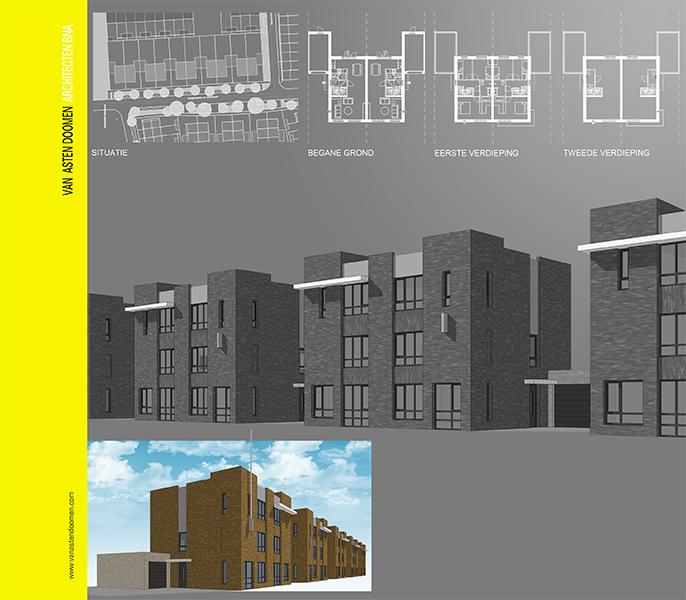 10 woningen Landgoed Driessen plandeel bibliotheek Waalwijk